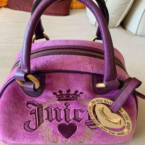 Used Juicy Couture Velvet Handbag